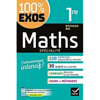 Maths (spécialité) 1re: Exercices résolus - Première