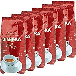 6x1kg Gimoka Coffee Beans
