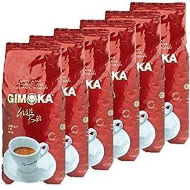 6x1kg Gimoka Coffee Beans 51BJlVgSPQL