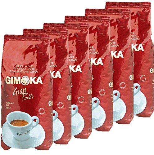 Gimoka Gran Bar Espresso Kaffee Bohnen 6kg (6x1kg)