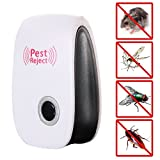 KiddySafe Electronic Ultrasonic Pest Repellent for Mosquitoes, Mice, Ants, Roaches, Spiders, Flies, Bugs