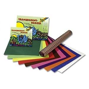 Maildor-papier Vitrail 32x50 Assorti - Pochette De 50 [Fournitures de bureau]