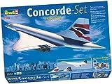 Revell 05757 - Modellbausatz Geschenkset Concorde BA im MaÃstab 1:144