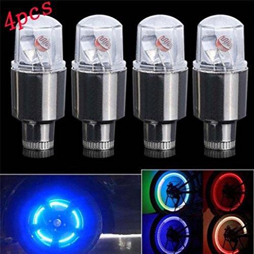 Hunpta LED Licht Fahrrad Blinker Lampen Licht Sicherheit Fahrrad Rückleuchten (Schwarz)
