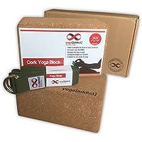 Cork Yoga Blocks 2Pack und Gurt Set Combo (7,6x 15,2x 22,9cm Cork Yoga Blöcke und 8'Yoga Gurt D-Ring Schnalle) preisvergleich bei fajdalomcsillapitas.eu