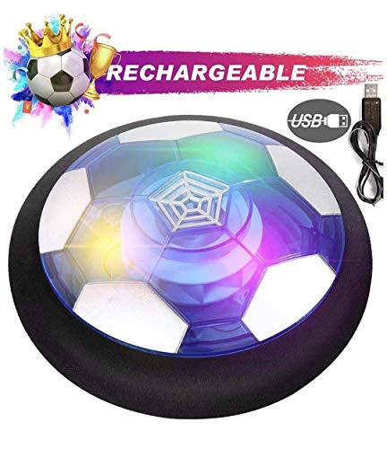 Yuechenxin Air Power Football Hover Power Ball Fútbol Interior,Carga USB De Fútbol...