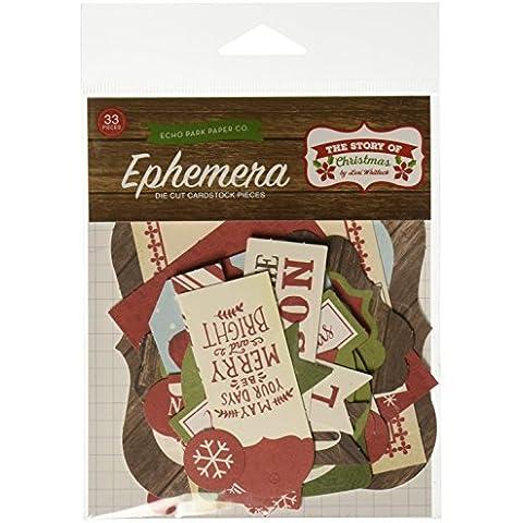The Story Of Christmas Ephemera Cardstock Die-Cuts-