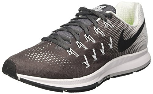 Nike Air Zoom Pegasus 33, Entraînement de course homme Gris (Dark Grey/White/Black)