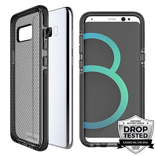 Prodigee Safetee For Samsung Galaxy S8 Cover Protective case schlank Handyhülle Fall Schutz dünn Hülle Stück dünner dünn, Smoke Gray Grey Clear Transparent 2 Meter Militär Drop Test zertifiziert