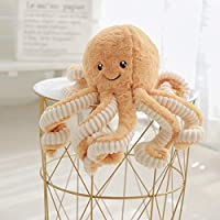 JYCRA Cartoon Octopus Plush Doll, 40cm Cute Octopus Dolls Soft Stuffed Animal Toy Plush Pillow for Kids Girl Boy Birthday Xmas Gift