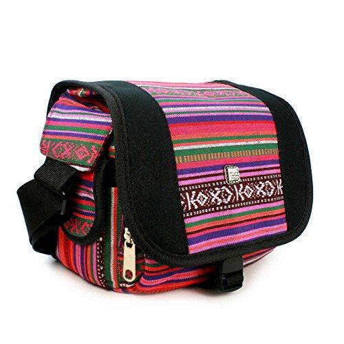 tlc-navajo-aztec-dslr-camera-digital-bolsa-hipster-de-hule-rojo