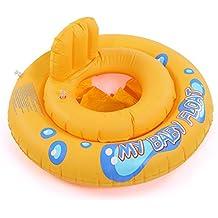 CLE DE TOUS - Flotador para Niño Niña Bebé Forma de coche Natación para 15kg Dibujo