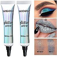 2 piezas de sombra de ojos Brillo Primer Glue Base de ojos de larga duración Maquillaje multifuncional Primer para ojos, labios, maquillaje facial