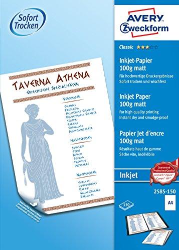 Avery Zweckform 2585-150 - Carta per stampante
