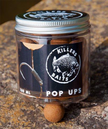 Carp Killers Pop Up Boilies Banana Fisch 100g (16mm / 20mm), Durchmesser:20mm -