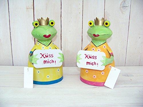 Zaunhocker Frosch Küss mich