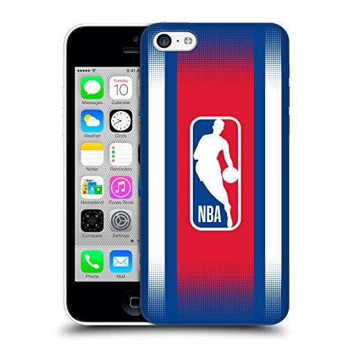 Ufficiale NBA Maglia Logoman Cover Retro Rigida per Apple iPhone 7 Gradiente Mezzotono
