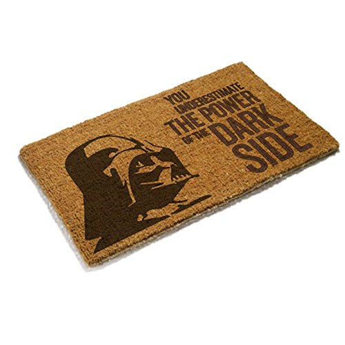 Krieg der Sterne Star Wars – Felpudo – Darth Vader – The Power of The Dark Side – Fibra de Coco – Marrón – 43 x 72 cm