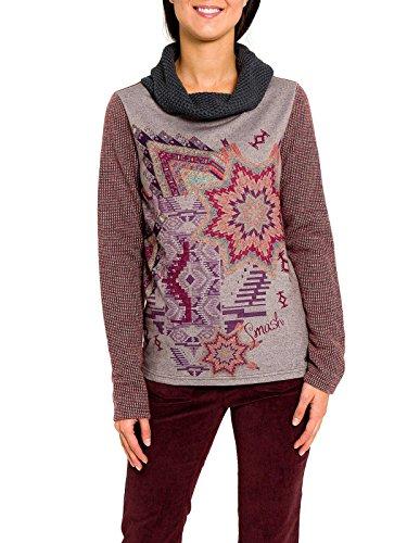 Smash Lepant Estampado-A1619318, Jersey Donna, Purpura, S