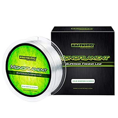 KastKing Premium Monofilament Fishing Line - Superior Mono Nylon Material - Paralleled Roll Track Design – Tournament Grade – Strong, Abrasion Resistant Mono Line for Saltwater by Eposeidon
