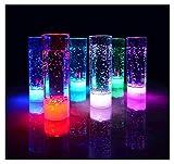 LED Longdrinkglas Longdrinkgläser Geburtstag Party Hochzeit Kunststoffglas LED beleuchtetes Trinkglas Partyglas 400 ml von der Marke PRECORN