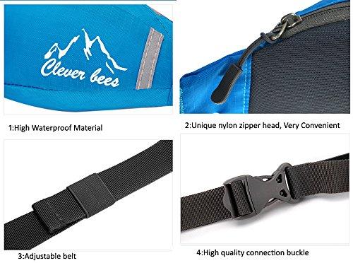 dushow Outdoor multifunktionale Waist Pack Tasche Blau