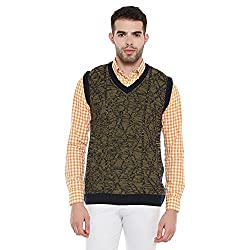 Duke Mens Polyester Sweater (Bbapldk36135_Xxl_Navy_Xx-Large)