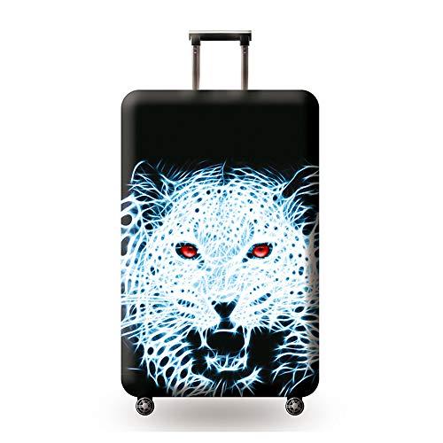 GIYL Reisegepäckabdeckung, Kofferabdeckungsschutz für Rollenkoffer, abwaschbare Schutzabdeckung gegen Kratzer, für 18-32 Zoll Gepäck,b,L
