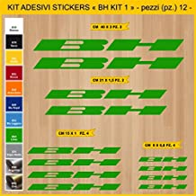 Kit Pegatinas Stickers Bicicleta BH -KIT 1-12 piezas- Bike Cycle Cod.