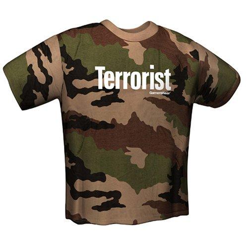 Preisvergleich Produktbild T-Shirt Terrorist desert Gr. S