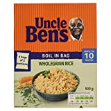 Uncle Ben's Wholegrain Rice Boil in the Bag, 500g