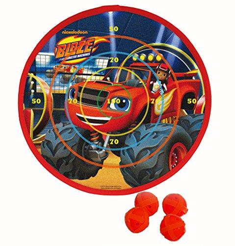Blaze-Monster-Machine-Diana-de-velcro-con-cuatro-proyectiles-Saica-2153