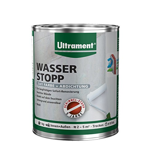 Preisvergleich Produktbild Ultrament Wasser Stopp, weiß, 47720000116008