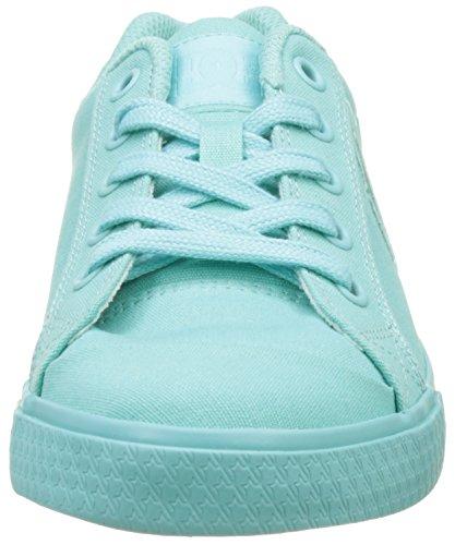 DC Shoes Chelsea Tx, Baskets Basses Femme Bleu (Aqua)