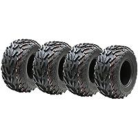 Cuatro neumáticos 16x8.00-7 cuádruple, 16 x 8-7 ATV E marcó el neumático de carretera legal 7 pulgadas