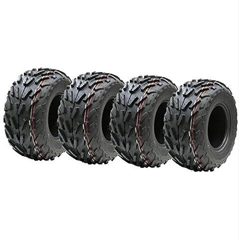 Vier - 16x8.00-7 quad Reifen, 16 x 8-7 ATV E markierte Straße legale Reifen 7 Zoll