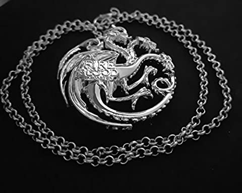 Game of thrones Targaryen necklace - Fossil Womens Metallo