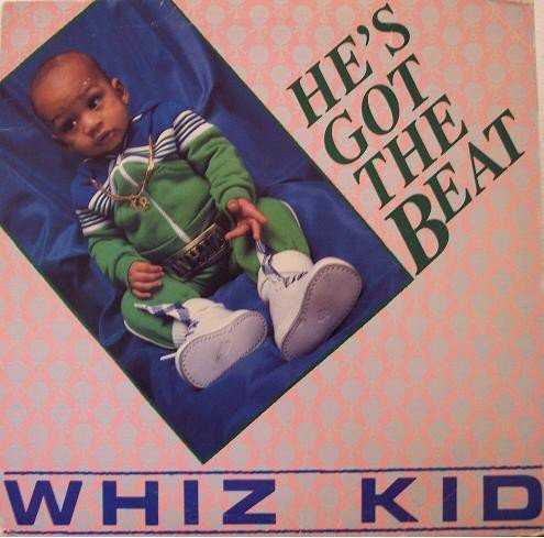 Whiz Kid - He's Got The Beat - Tommy Boy - TB 854