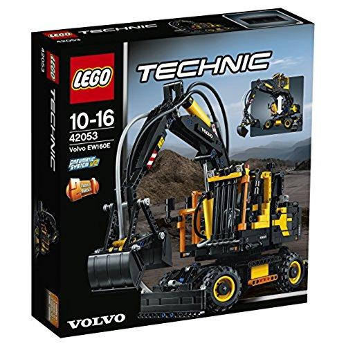 LEGO Technic 42053 - Volvo EW160E, Bauspielzeug -