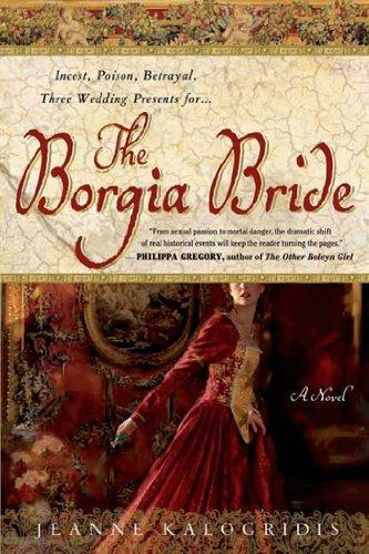 Book cover for The Borgia Bride