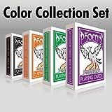 Carte Phoenix Color Collection - Set di 4 mazzi