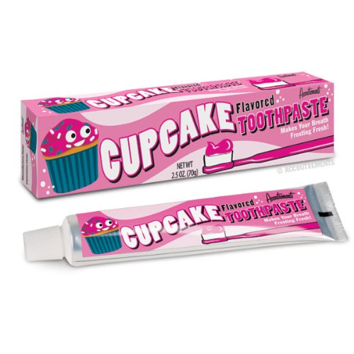 Zahncreme CUPCAKE TOOTHPASTE mit Kuchengeschmack
