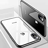 POSH Ultra Thin Tempered Glass Case for Apple iPhone X (10 -Ten) (White)