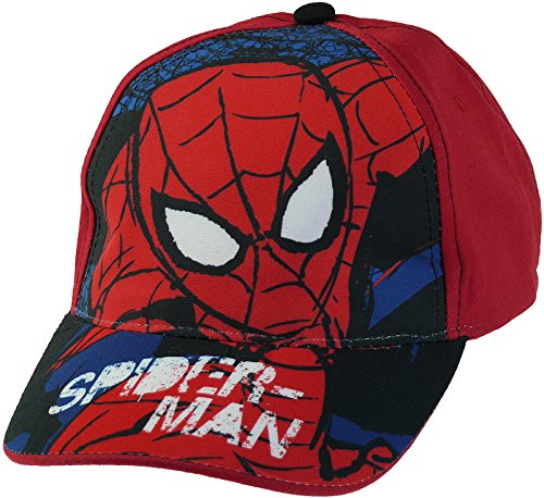 Baseball Cap Marvel Spiderman rot Gr. 53