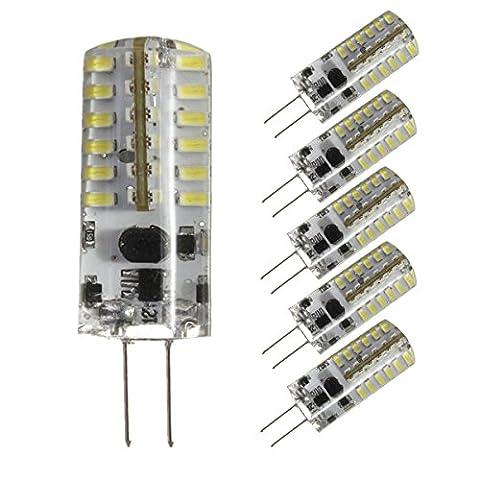 KINGSO Pack DE 5 G4 3W Ampoule LED Remplacement A