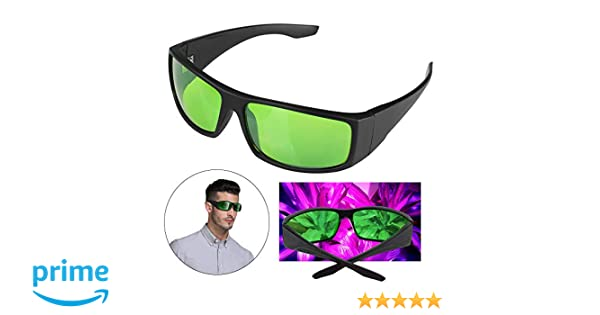 Rays Protective Eyewear Goggles for Intense LED Lighting in Greenhouse,Grow Room Hydroponics Indoor Grow Light Glasses Color Correction UV Anti UV IR