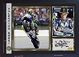 Valentino Rossi Autogramm, Print Signiertes Foto gerahmt (MDF)