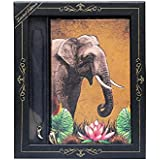 Doodle Exquisite India Wildlife - Tusk Tales Diary/Notebook with Pendant