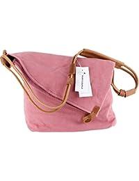 FAIRY COUPLE La bolsa de mensajero bolsa Unisex lienzo bolso retro hombro del estilo de la universidad literaria versión coreana de C5069
