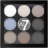 W7 The Naughty Nine Shades of Eye Colour Eyeshadow Palette-Hard Day's Night